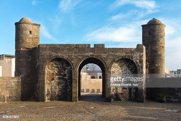 Essaouira old fortress, Atlantic coast of Morocco