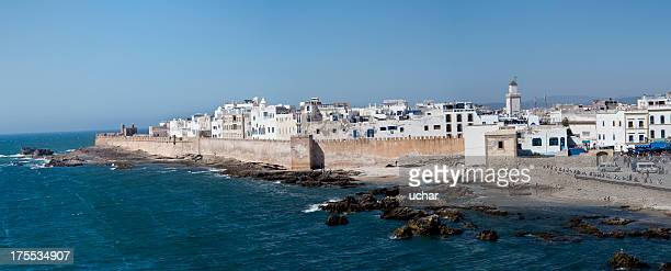 essaouira panoramic - agadir stock pictures, royalty-free photos & images
