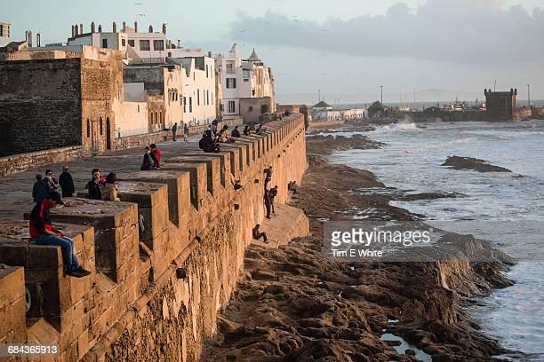 Essaouria city walls, Morocco