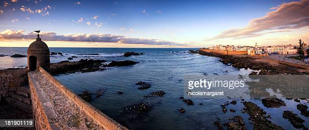 Essaouria, au Maroc: Coucher du soleil