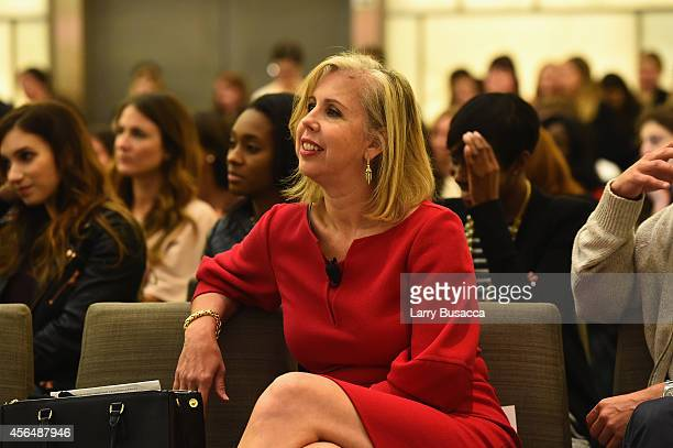 Essayist Nancy Gibbs attends the TIME and Real Simple's Women & Success event at the Park Hyatt on October 1, 2014 in New York City.