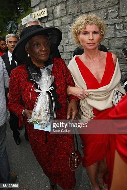 Esseline KerssenbergBradley grandmother of Sharlely Kerssenberg and Sabine BeckerSchorp sister of former tennis star Boris Becker depart after the...