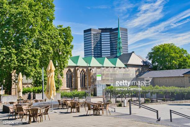 essen (ruhr) cathedral, germany - essen germany stock pictures, royalty-free photos & images