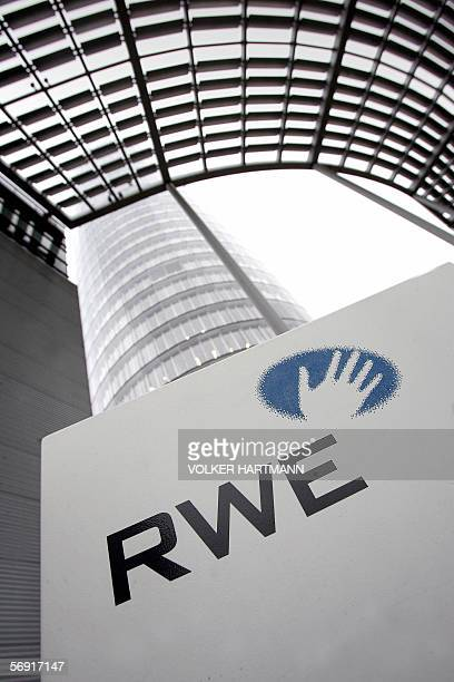 FILES Picture taken 06 December 2005 shows the headquarters of RWE the secondbiggest energy supplier in Germany RWE said 23 February 2006 that higher...