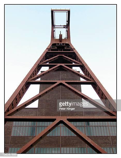Essen, Zeche Zollverein, shaft