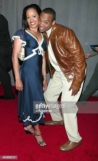 Essence Atkins and Chico Benymon of Half & Half