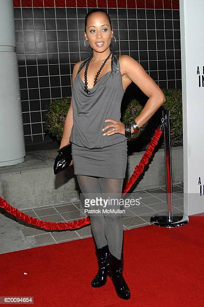 Essence Atkins attends West Coast Screening of 'A Raisin in the Sun' at AMC Magic Johnson on February 11 2008 in Los Angeles CA