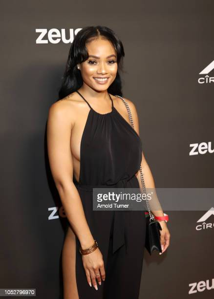 Essence Richards attends the ZEUS New Series Premiere Party X CIROC Black Raspberry on October 19 2018 in Burbank California