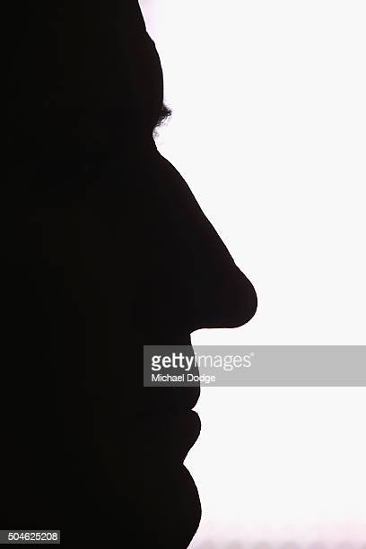 Essendon Bombers coach John Worsfold listens on to a press conference at his club on January 12 2016 in Melbourne Australia The Court of Arbitration...