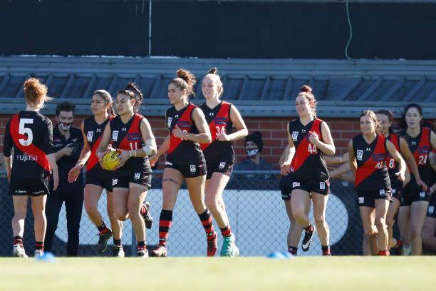 AUS: VFLW Preliminary Final - Essendon v Geelong