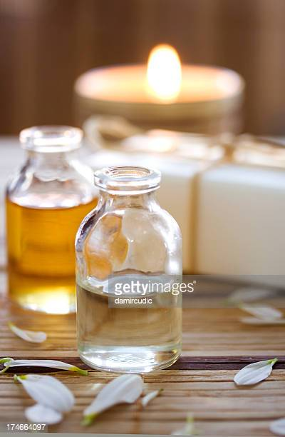 Essential oils used for aroma therapy