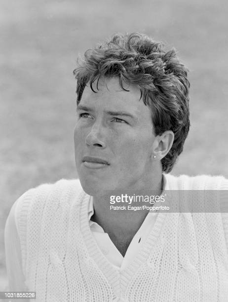 Essex and England cricketer Derek Pringle during the 2nd Test match between England and Pakistan at Lord's cricket ground in London 12th August 1982