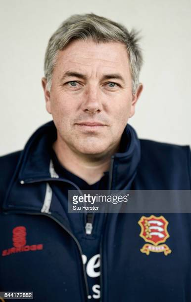 Essex coach Chris Silverwood pictured after day four of the Specsavers County Championship Division One match between Lancashire and Essex at Old...
