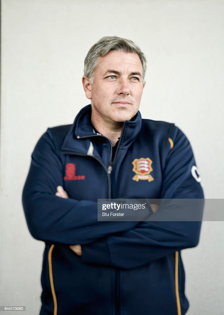 Essex coach Chris Silverwood pictured after day four of the Specsavers County Championship Division One match between Lancashire and Essex at Old Trafford on September 8, 2017 in Manchester, England.