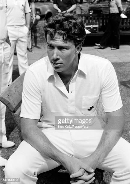 Essex cricketer Derek Pringle during the media day before his Test debut in the 1st Test match between England and India at Lord's Cricket Ground...