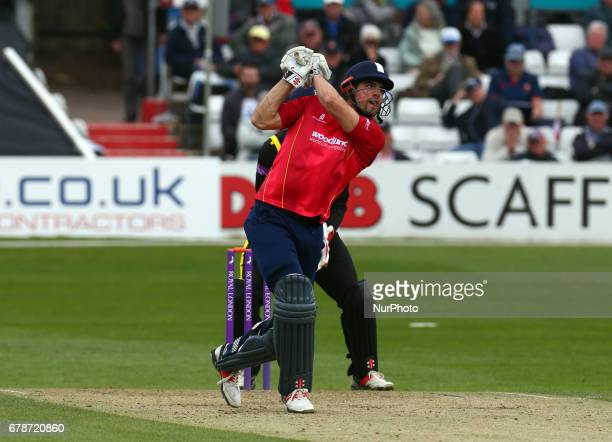 Essex's Alistair Cook during Royal London OneDay Cup match between Essex CCC and Gloucestershire CCC at The Cloudfm County Ground Chelmsford Essex on...