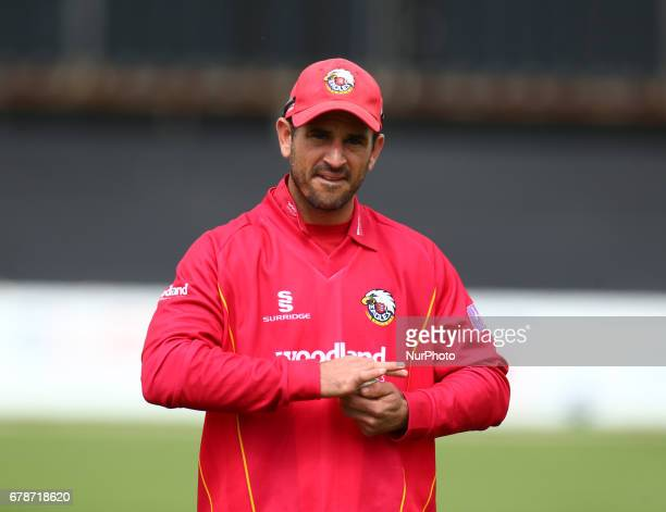 Essex's Ryan ten Doeschate during Royal London OneDay Cup match between Essex Eagles and Gloucestershire CCC at The Cloudfm County Ground Chelmsford...