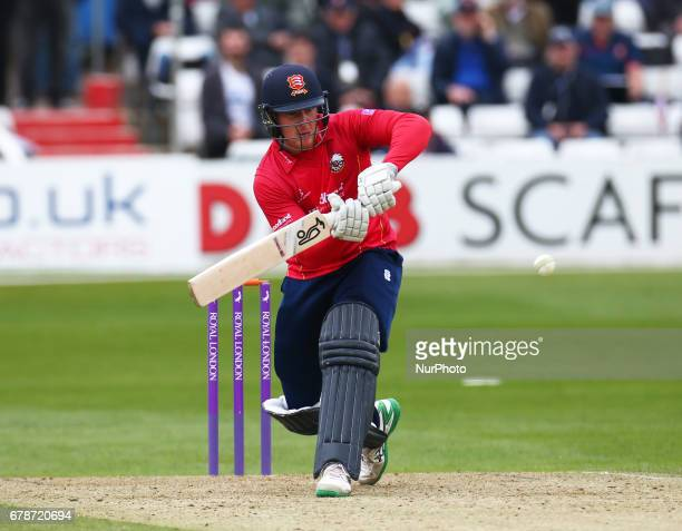 Essex's Simon Harmer during Royal London OneDay Cup match between Essex CCC and Gloucestershire CCC at The Cloudfm County Ground Chelmsford Essex on...