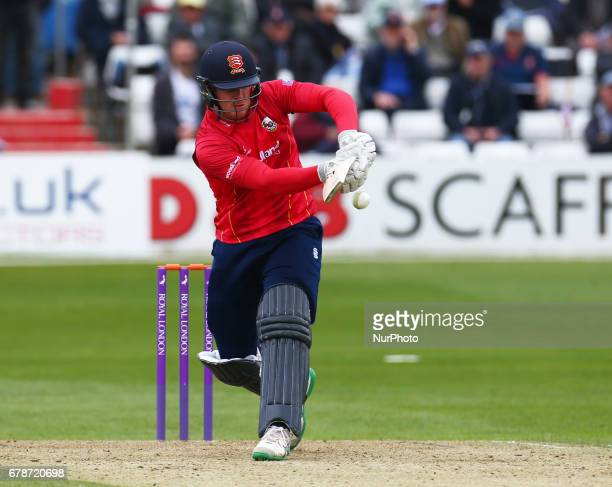 Essex's Simon Harmer during Royal London OneDay Cup match between Essex Eagles and Gloucestershire CCC at The Cloudfm County Ground Chelmsford Essex...