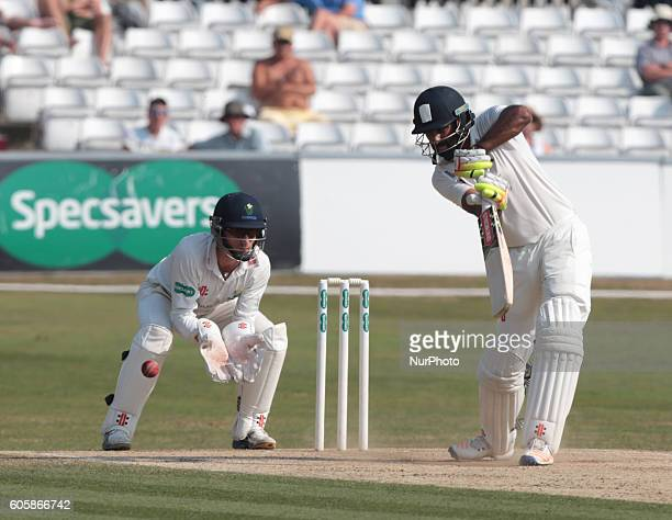 Essex's Varun Chopra during Essex CCC vs Glamorgan CCC Specsavers County Championship Division 2 Cricket at the Essex County Ground Chelmsford on...