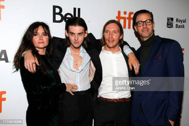 """Essi Davis, Earl Cave, Sean Keenan and Shaun Grant attend the ''True History Of Kelly Gang"""" premiere during the 2019 Toronto International Film..."""