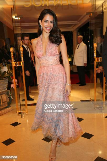 essica Kahawaty during the party in Honour of John Travolta's receipt of the Inaugural Variety Cinema Icon Award during the 71st annual Cannes Film...
