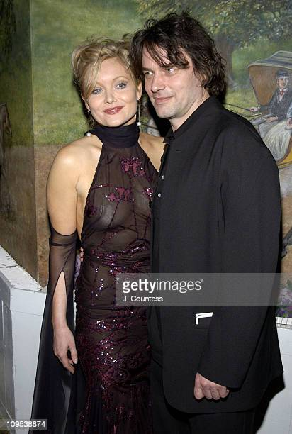 "Essie Davis and David Levaux during Opening Night of ""Jumpers"" - After Party at Tavern On the Green in New York City, New York, United States."