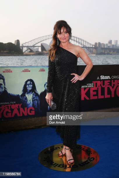 Essie Davis attends a special screening of True History of the Kelly Gang on January 10, 2020 in Sydney, Australia.