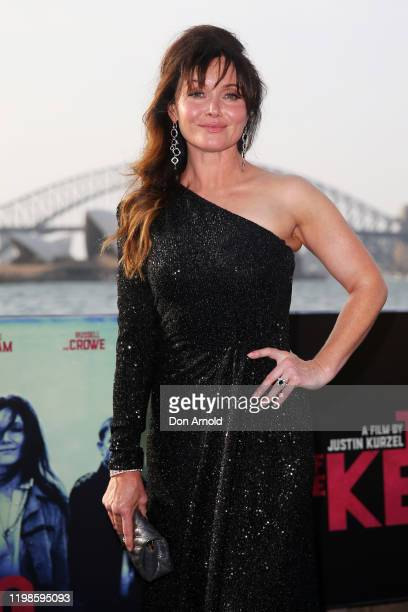 Essie Davis attends a special screening of True History of the Kelly Gang on January 10 2020 in Sydney Australia