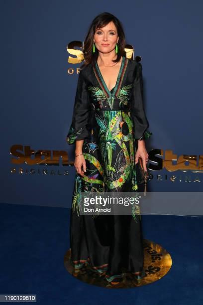 Essie Davis attends the Stan Originals Showcase at Sydney Opera House on November 26 2019 in Sydney Australia