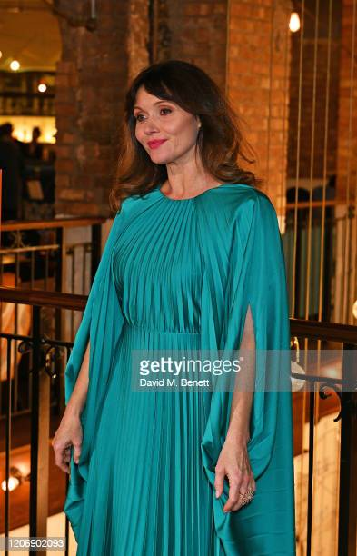 Essie Davis attends the UK Premiere of True History Of The Kelly Gang at the Picturehouse Central on February 17 2020 in London England