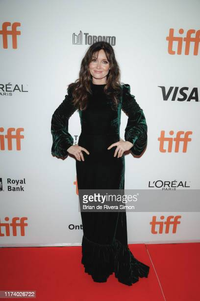 "Essie Davis attends ""True History Of Kelly Gang"" Premiere during the 2019 Toronto International Film Festival at Roy Thomson Hall on September 11,..."