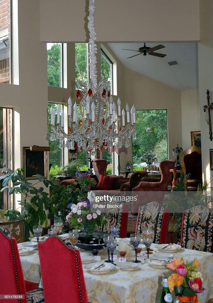 Esstisch Wohnzimmer esstisch und wohnzimmer villa hardy wurner homestory houston