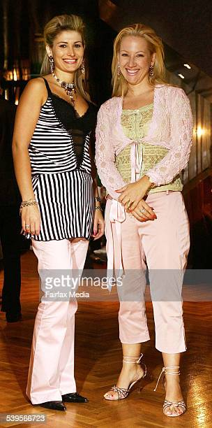 C'est Si Bon Pour Femme spring/summer collection launch at Valonz Pictured are Sophie Pap and Natalie Tonks 21 March 2005 SHD S Picture by JENNY EVANS