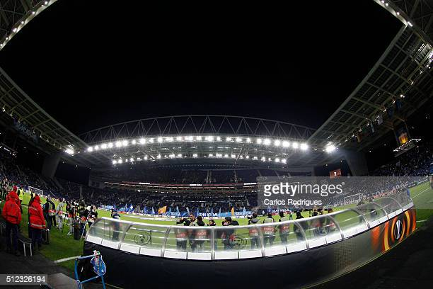 Estadio do Dragao during the Champions League match between FC Porto and Borussia Dortmund for UEFA Europa League Round of 32 Second Leg at Estadio...
