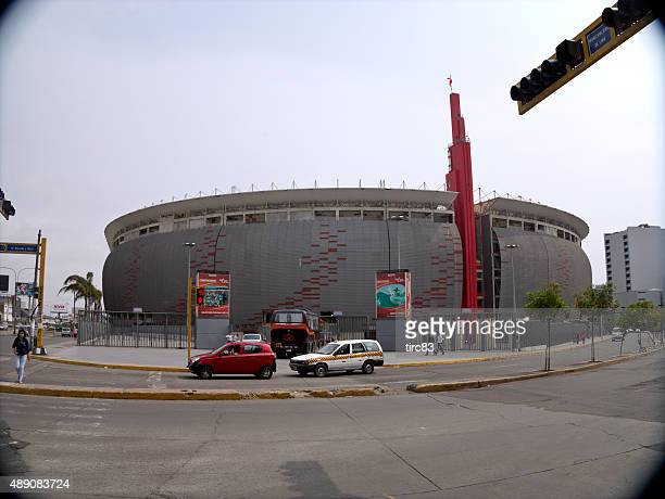 estadio nacional football stadium in lima - lima peru stock photos and pictures