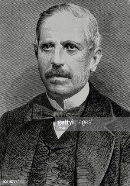 Estanislao Figueras y Moragas First president of the Primera Republica Española 1873 Engraving