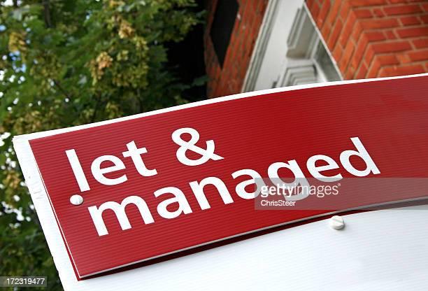 Estate Agent Sign