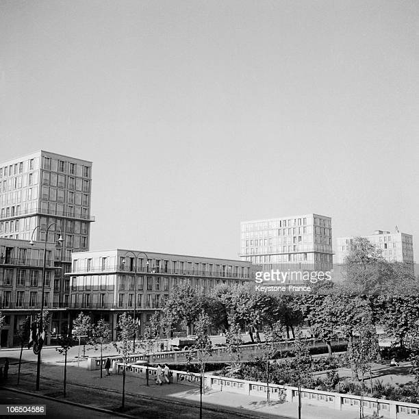Estates Close To The Foch Avenue On November 15Th 1953 In Le Havre Center Town That Was Ravaged By English Bombing In 1944 Leaving 80000 People...