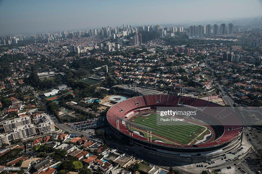 Brazil - Aerials of SAO PAULO : ニュース写真