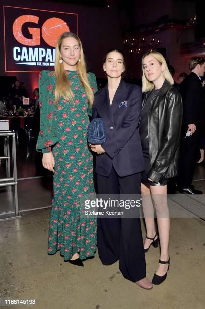 Este Haim Alana Haim and Danielle Haim attend the GO Campaign Gala 2019 on November 16 2019 in Los Angeles California