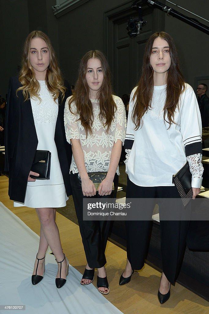 Chloe : Front Row  - Paris Fashion Week Womenswear Fall/Winter 2014-2015