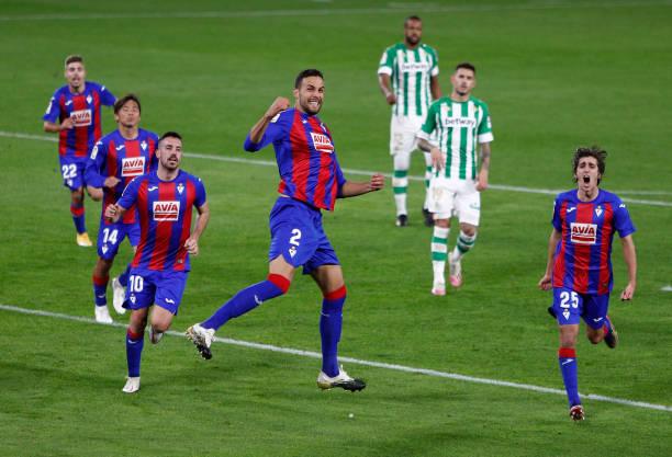 ESP: Real Betis v SD Eibar - La Liga Santander