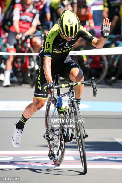 Esteban Chaves before the start of the 2018 Cadel Evans Road Race on January 28 2018 in Geelong Australia Chris Putnam / Barcroft Images LondonT44...