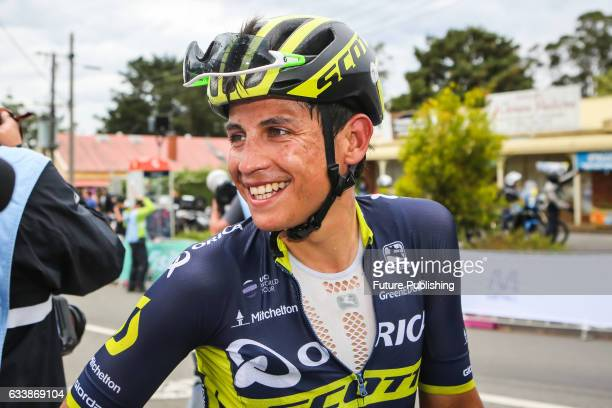 Esteban Chaves of Team Orica Scott after stage 4 at Kinglake as part of the 2017 Jayco Herald Sun Tour on February 05 2017 in Melbourne Australia...