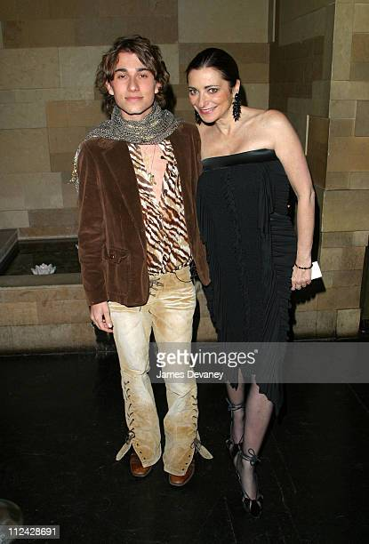 Esteban Cortazar and Jeanne Becker of Fashion Television