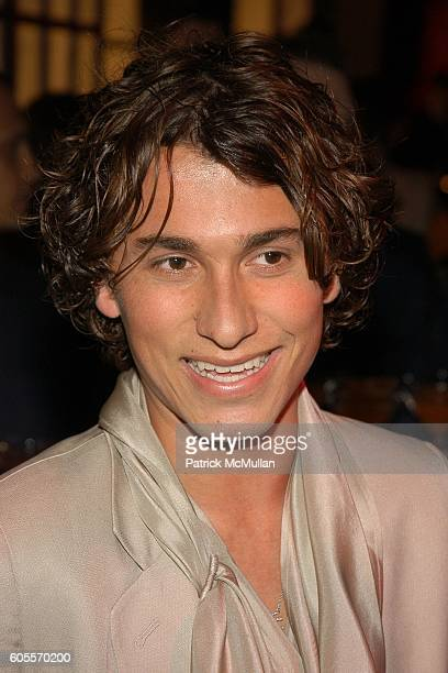 Esteban Cortazar attends SWAROVSKI hosts a party to present their POETIC NIGHT Collection at The Rink at Rockefeller Center on May 3 2006 in New York...