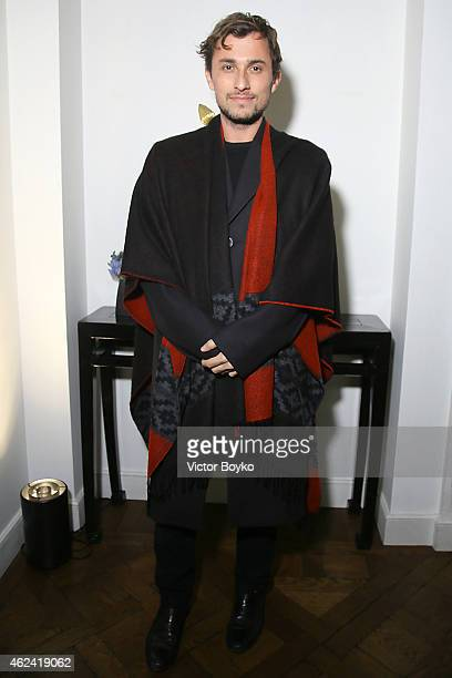 Esteban Cortazar attends the party for Dasha Zhukova' cover for Wall Street Journal on January 27, 2015 in Paris, France.
