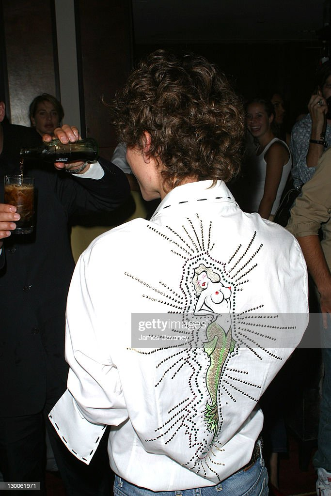 Esteban Cortazar During The Chambers Hotel Hosts Party For 18 Year Old