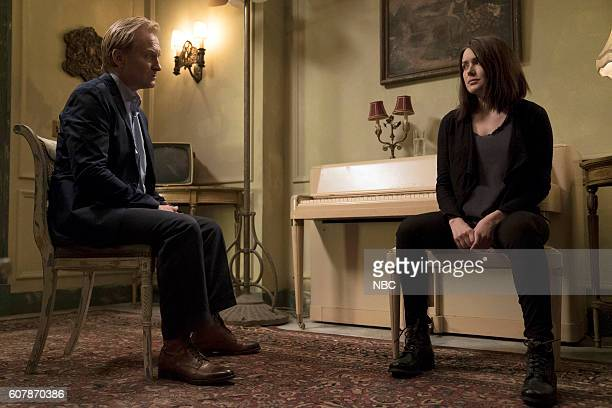 THE BLACKLIST 'Esteban' Episode 401 Pictured Ulrich Thomsen as Alexander Kirk Megan Boone as Elizabeth Keene